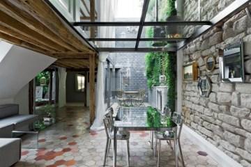 บ้านเก่าอายุ 200 ปี ปรับปรุงใหม่ใจกลางกรุงปารีส 17 -