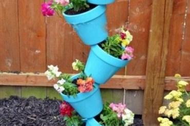 Simple verticle flowerpots 16 - Verticle Garden