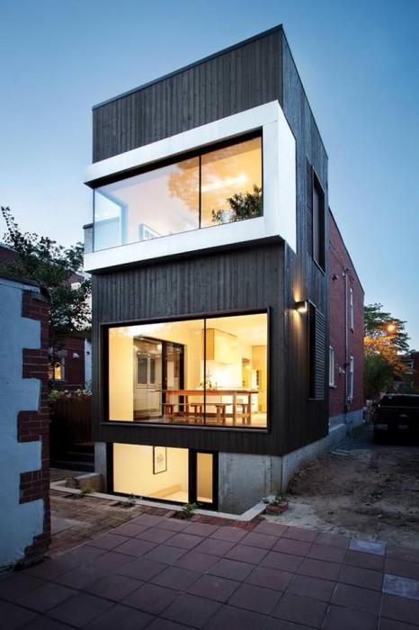 25560610 104414 ต่อเติมบ้านเก่าแบบทาวน์เฮาส์..ให้มีพื้นที่รับประทานอาหาร เป็นศูนย์กลางของบ้าน