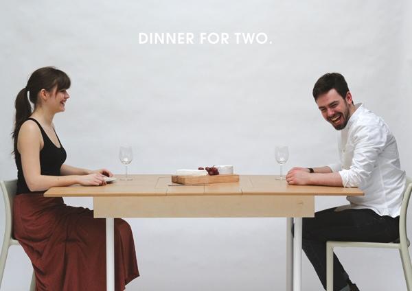 25560610 204951 Table for Two or Six..ไอเดียเฟอร์นิเจอร์แปลงร่างที่เหมาะกับบ้านยุคนี้