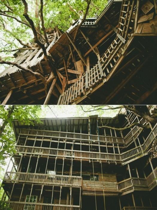 25560614 225608 บ้านต้นไม้จากไม้เก่า ใช้เวลาสร้างกว่า 11 ปี แบบไม่ต้องมีพิมพ์เขียว โดยพระที่เป็น Landscape Architect