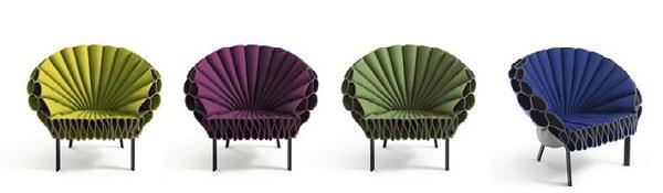 25560617 151940 Peacock Chair..เก้าอี้ทำได้ง่ายๆ ไอเดียมาจากนกยูงลำแพนหาง