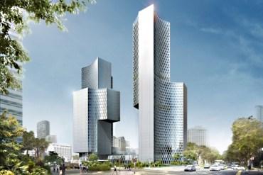 Twin Towers Duo in Singapore ตึกแฝดด้วยรูปทรงที่เว้าแหว่ง ประเทศสิงคโปร์ 15 - Singapore