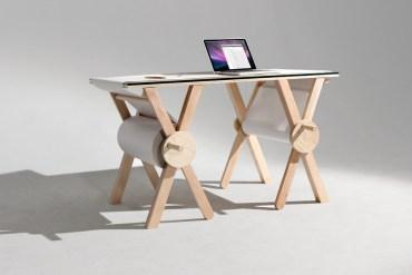ANALOG MEMORY DESK ขีดเขียนบนโต๊ะไม่ใช่เรื่องผิดอีกต่อไป 23 - wood
