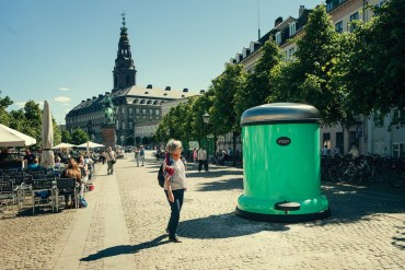GIANT BIN TO KEEP COPENHAGEN GREEN 18 - clean