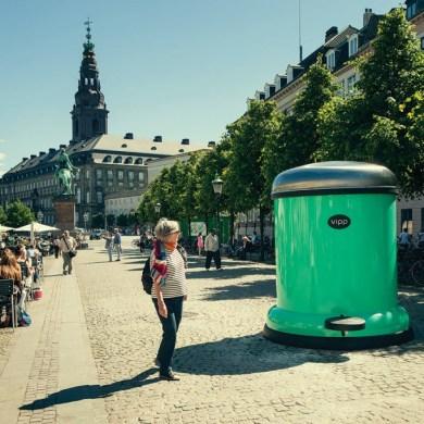GIANT BIN TO KEEP COPENHAGEN GREEN 14 - bin