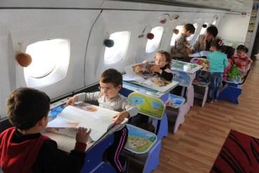 เปลี่ยนเครื่องบินเก่าเป็นโรงเรียนอนุบาลให้เด็กๆ ✈︎ ไอเดียจากประเทศจอร์เจีย ?? 22 - Kid