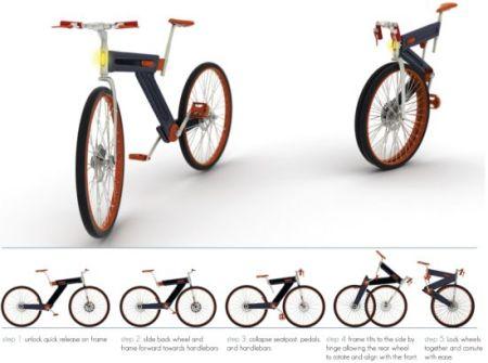folding bike 01 yaDX1 17621 450x335 Pick The Right Gear เลือกจักรยานให้เหมาะสมกับตัวเอง