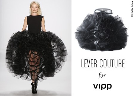 lever couture and vipp bin black pouf IIHIH copy 450x322 VIPP's trashion couture ถังขยะกับชุดราตรีสุดหรู ในราคาร่วมแสน
