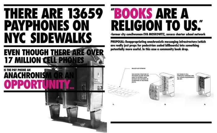 25560703 170856 เปลี่ยนตู้โทรศัพท์สาธารณะในนิวยอร์ค เป็นห้องสมุดขนาดเล็ก เพื่อส่งเสริมการเรียนรู้ของคนในชุมชน