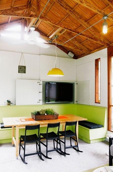 25560710 085446 ไอเดียแต่งห้องครัวด้วยสีเขียว เหลือง 30 แบบ