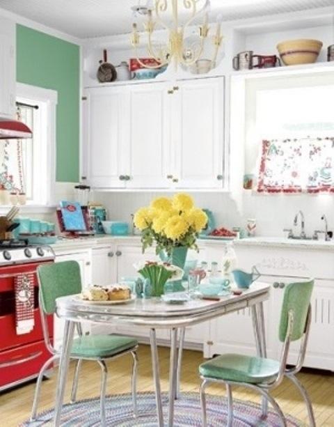 25560710 085716 ไอเดียแต่งห้องครัวด้วยสีเขียว เหลือง 30 แบบ