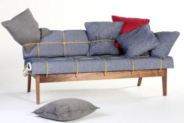 โซฟา ที่ไม่มีอะไรหลุดกระเด็นได้ ..Bungy Sofa 2 - bungy sofa