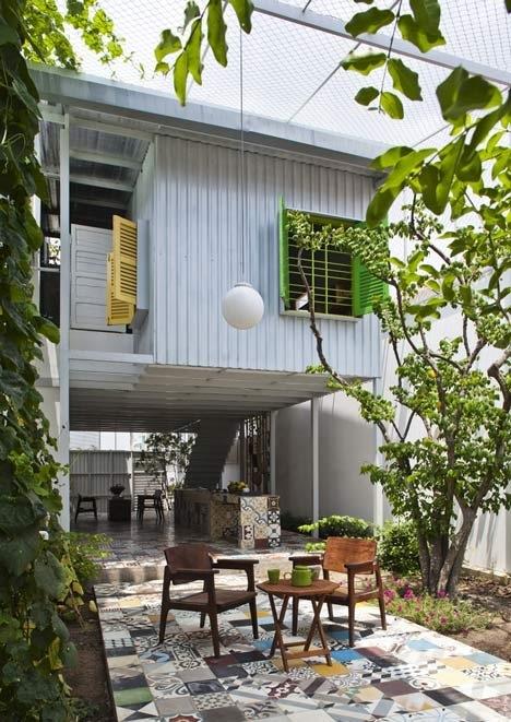 25560714 195809 The Nest by  a21studio..ด้วยสีเขียวของต้นไม้และการใช้พื้นที่ที่ดี..บ้านก็น่าอยู่ และดูดีได้ โดยไม่แพง