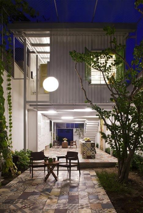 25560714 195854 The Nest by  a21studio..ด้วยสีเขียวของต้นไม้และการใช้พื้นที่ที่ดี..บ้านก็น่าอยู่ และดูดีได้ โดยไม่แพง