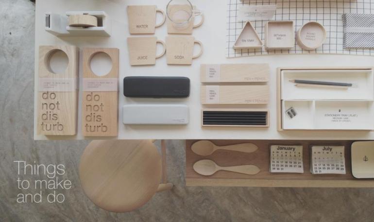 """""""THINGS TO MAKE AND DO"""" คอนเซ็ปต์ของร้านคือเน้นความเรียบง่าย ใช้ได้จริงและใช้ได้นาน 13 - DIY"""