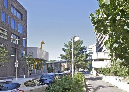 Dezeen Giraffe Childcare Centre by Hondelatte Laporte Architectes SS 1 450x321 Giraffe Childcare Centre ตึกยีราฟในกรุงปารีส
