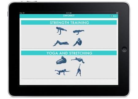 Sworkit iPad BritCo 450x323 ออกกำลังได้แม้เวลาสั้นๆกับ app,Sworkit