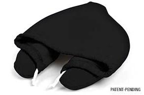 โลกส่วนตัวได้ทุกที่กับ Hooded Travel Pillow  15 - black