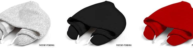 โลกส่วนตัวได้ทุกที่กับ Hooded Travel Pillow  13 - hood