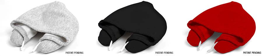 TravelMain2 1 โลกส่วนตัวได้ทุกที่กับ Hooded Travel Pillow