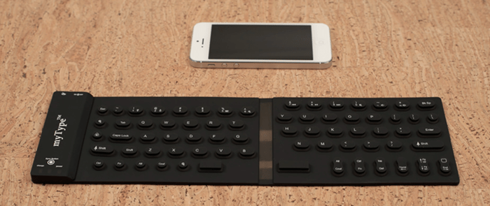 Pocketable Bluetooth Keyboard for your smartphone & tablet 13 - silicone