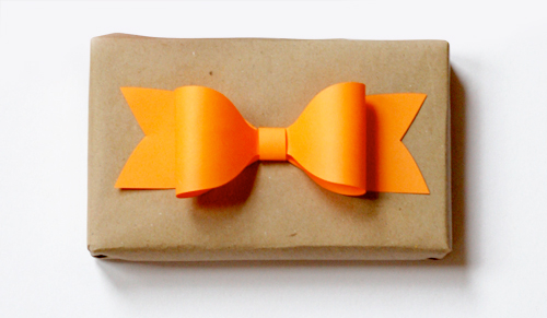 paper gift bow template DIY.Paper bow ติดเก๋ๆบนกล่องของขวัญ