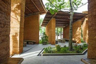 สถาปัตยกรรมเพื่อให้การเรียนรู้ การออกแบบอย่างยั่งยืน ด้วย ไม้ไผ่, ดิน และหิน 27 - Sustainable design