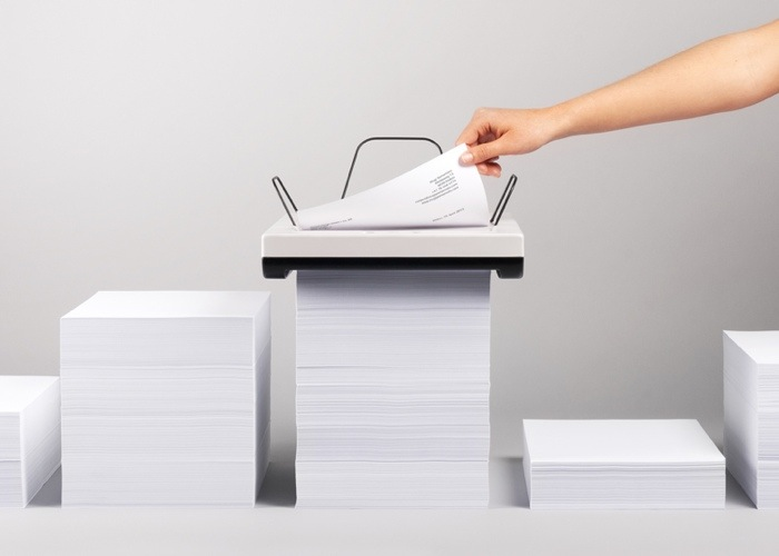 Stack Printer เครื่องพิมพ์ที่ไม่ต้องใส่ถาดกระดาษ  ไม่ต้องคอยเติมกระดาษ 25 - printer