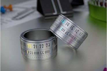 Ring Clock..แหวนนาฬิกา โดยSzikszai Gusztáv 24 - gadget