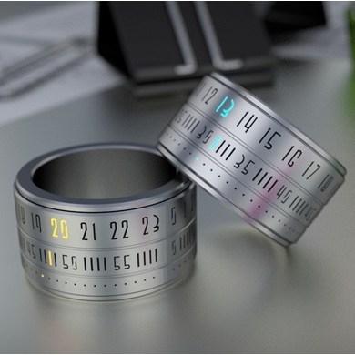 Ring Clock..แหวนนาฬิกา โดยSzikszai Gusztáv 19 - gadget