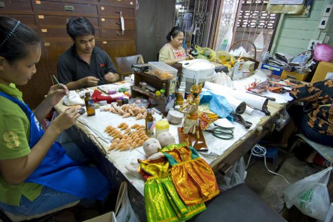 Bangkok Dolls Factory & Museum พิพิธภัณฑ์บ้านตุ๊กตา 6 - Bangkok Dolls