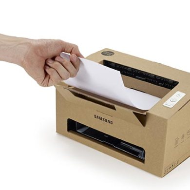 Origami printer ทำจาก cardboard  19 - Award