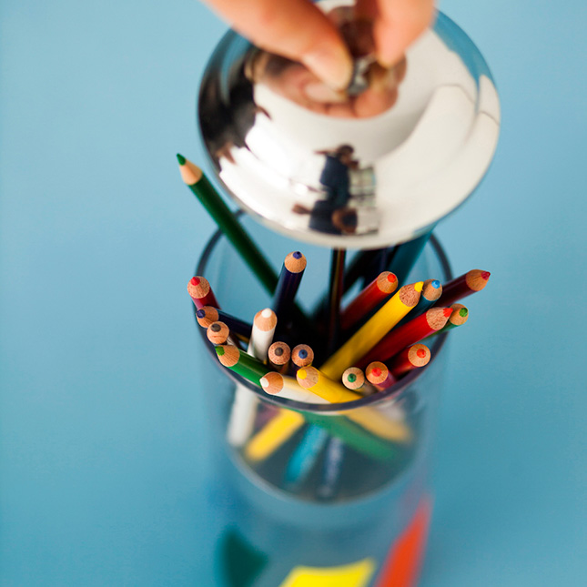 rainbow lifting DIY.Pop Up Pencil Holders ที่ใส่ดินสอแสนน่ารัก 3 แบบ