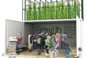 'GrowUp Box' ชุดฟาร์มขนาดเล็กปลูกผักเลี้ยงปลาในสวนหลังบ้าน ทำจากตู้คอนเทนเนอร์เก่า 10 - microfarm