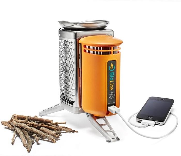 25560904 152456 BioLite CampStove..ชาร์ตมือถือด้วยเตาแค้มปปิ้ง ใช้พลังงานจากกิ่งไม้