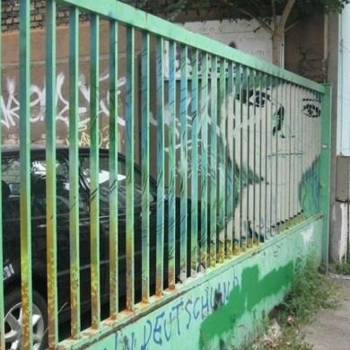 Street Art ภาพที่ซ่อนอยู่บนราวลูกกรงข้างถนน 14 - Graffiti