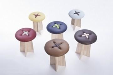 Button..เก้าอี้รูปกระดุม .. เรียบง่าย และน่ารัก ทำมือทั้งชิ้น