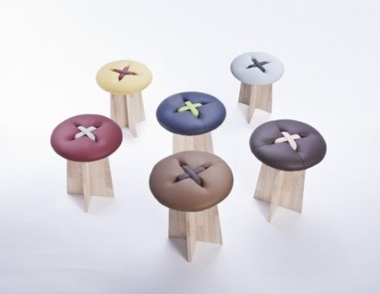 Button..เก้าอี้รูปกระดุม .. เรียบง่าย และน่ารัก ทำมือทั้งชิ้น 32 - DESIGN
