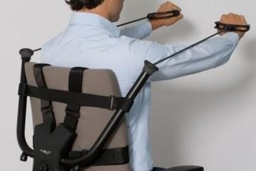 นั่งทำงานในออฟฟิศ ก็ออกกำลังกายได้ ด้วย Workout Office Chair! 2 - workout