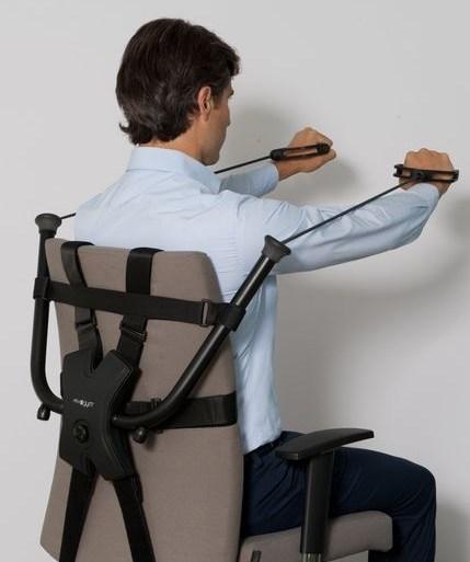 นั่งทำงานในออฟฟิศ ก็ออกกำลังกายได้ ด้วย Workout Office Chair! 13 - Workout chair