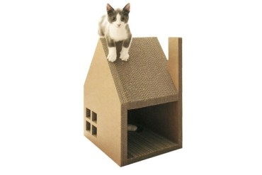 บ้านแมวจากกระดาษกล่อง..ให้ข่วน ลับเล็บกันเต็มที่เลย 21 - cardboard
