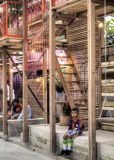 Dezeen 8 Klong Toey Community Lantern by TYIN tegnestue 8 แสงสว่างเล็กๆในพื้นที่ชุมชนคลองเตย