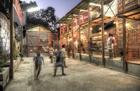 Dezeen Klong Toey Community Lantern by TYIN tegnestue 4 แสงสว่างเล็กๆในพื้นที่ชุมชนคลองเตย