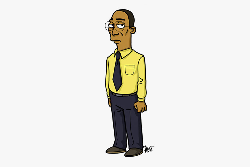 breaking bad simpsons db09 Breaking bad characters illustrated like the simpsons