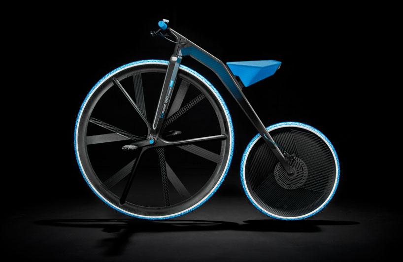 ding300 electric velocipede designboom04 Velocipedes,จักรยานยุค 1865 กับวัสดุไฮเทค