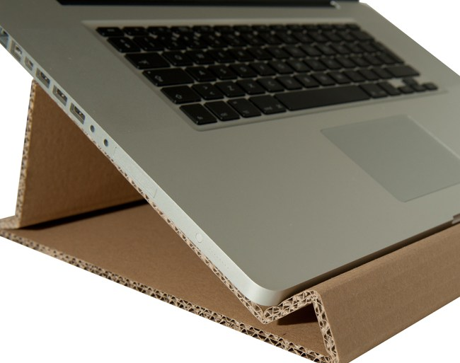Form Function Fun with Cardboard 16 - laptop