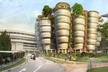 อาคารเรียนที่เน้นให้เกิดกิจกรรมทางสังคม ..ได้แรงบันดาลใจจากรังผึ้ง 10 - Nanyang Technological University