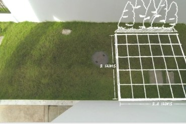 DIY เปลี่ยนมุมเปล่าเป็นมุมโปรด ตอน แต่งสวนข้างบ้านด้วยกระเบื้องปูพื้นตราช้าง 15 - DIY