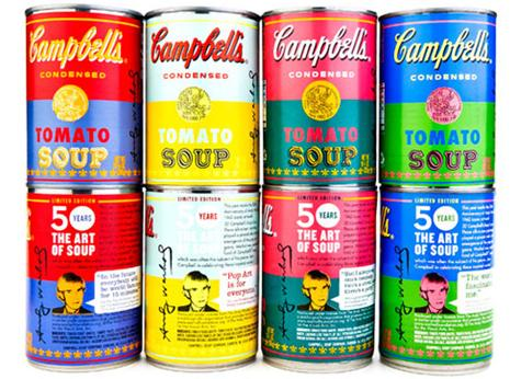 CAMPBELLS SOUP CAN COLLECTOR WALL1 POP ART CAN